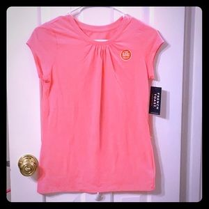 New French Toast Pink T-Shirt XS 14/16